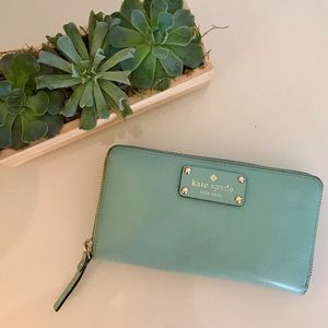Kate Spade Continental Wallet - Blue